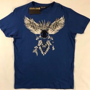 Roberto Cavalli Graphic T-shirt XL